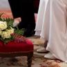 Bouquet sur chevet